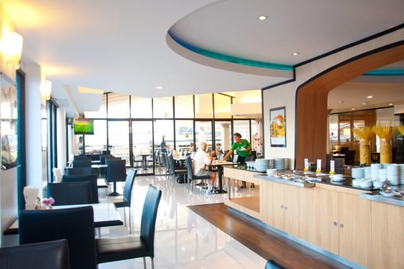 Flipper Lodge Hotel : ร้านอาหาร